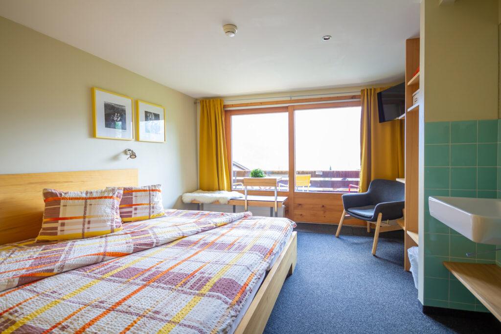 Dreibettzimmer Eigerview mit Balkon