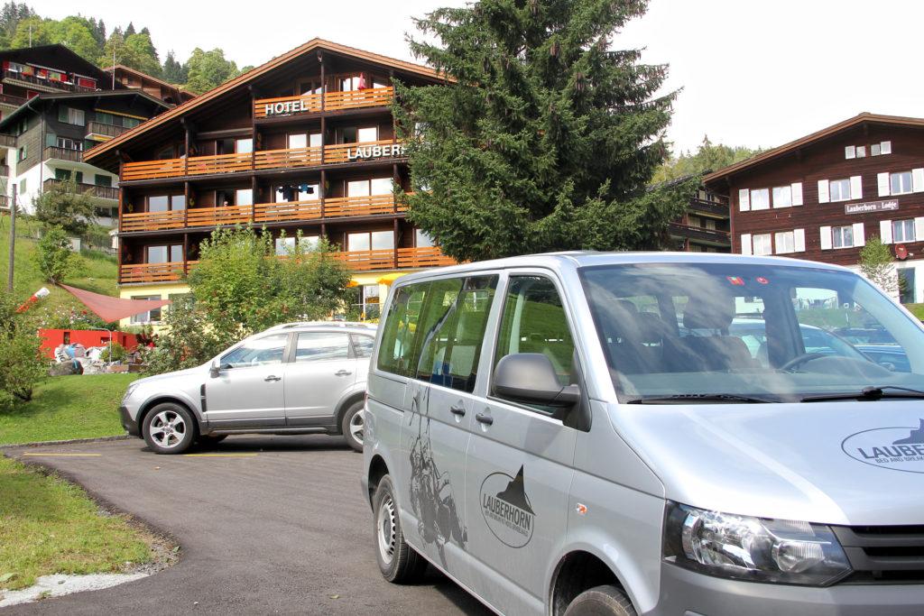 Anfahrt Hotel Lauberhorn Grindelwald