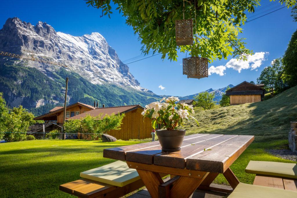 Hotel Lauberhorn Grindelwald Garten