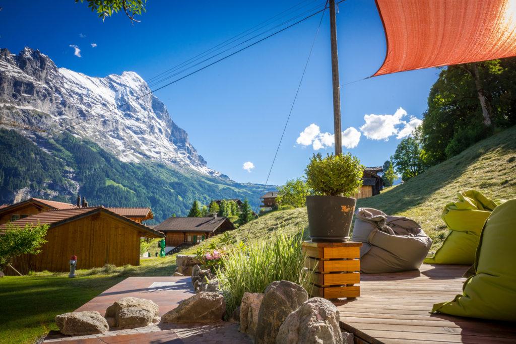 Sonnendeck Hotel Lauberhorn Grindelwald