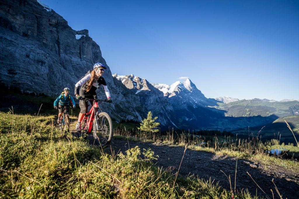 Mountainbikeferien Grindelwald
