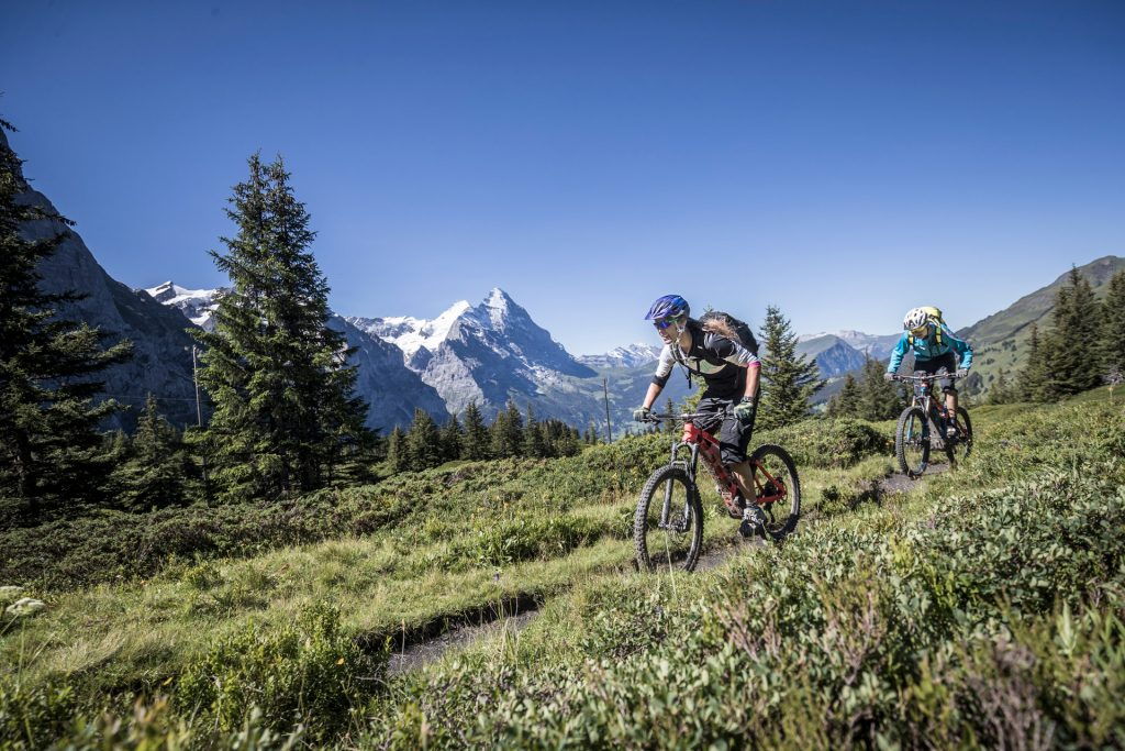 Mountainbike Touren Grindelwald