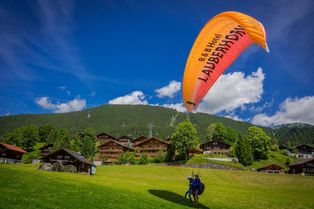 Gleitschirm Grindelwald