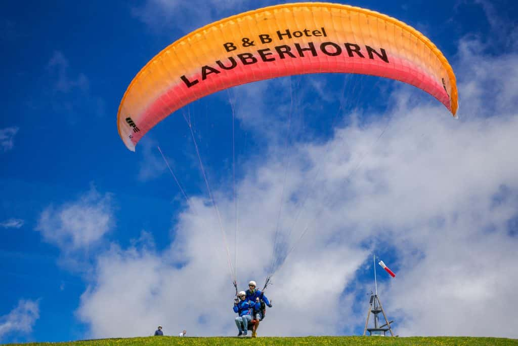 Paragliding Hotel Lauberhorn