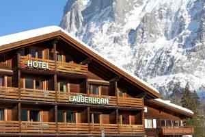 hotel lauberhorn aussicht grindelwald
