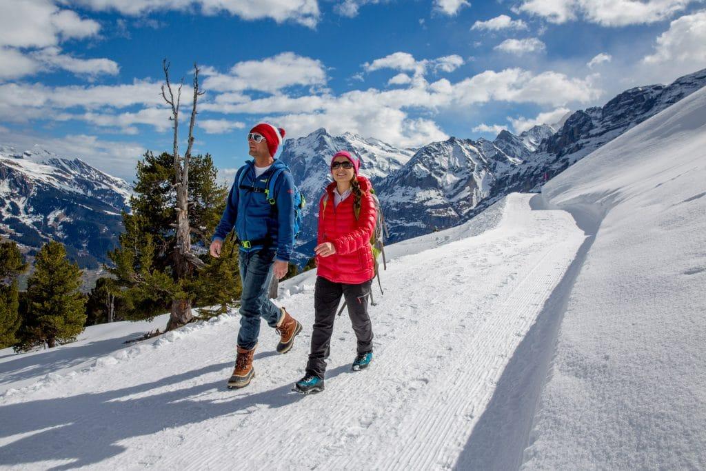 hotel lauberhorn winterwandern grindelwald