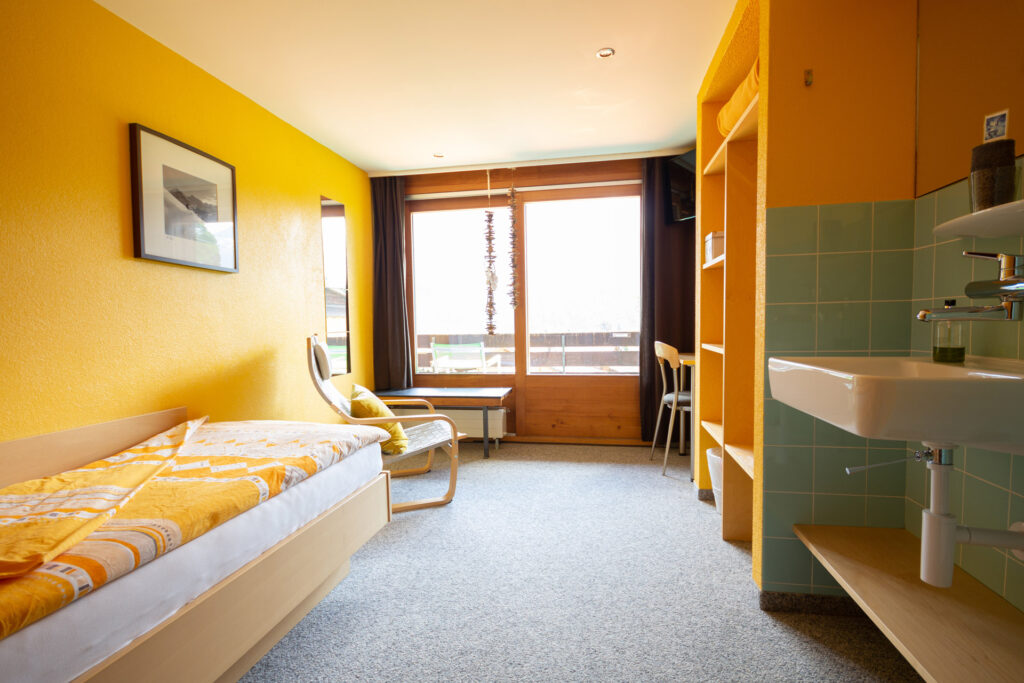 Einzelzimmer Eigerview mit Balkon